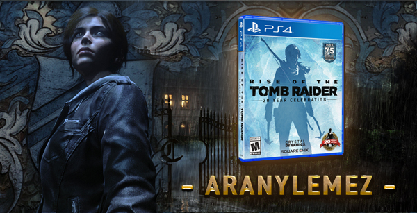 Aranylemezen a Rise of the Tomb Raider 20: Year Celebration
