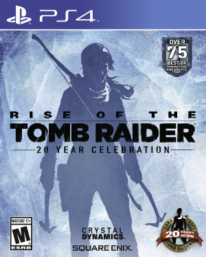 Rise of the Tomb Raider: 20 Year Celebration borító